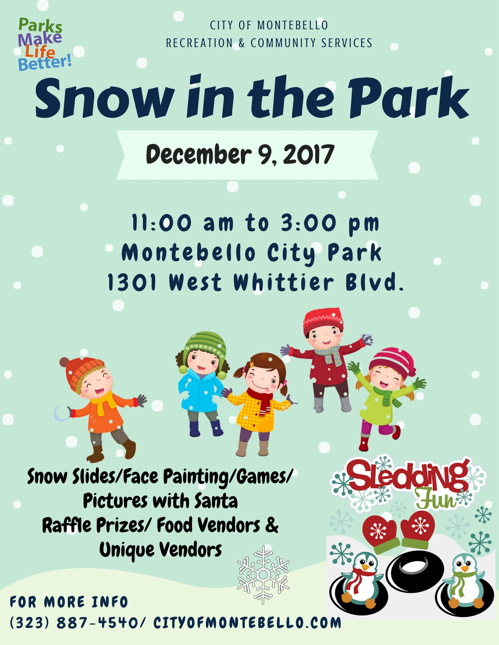 snow in the park 2017 1